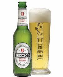 BE Becks beer