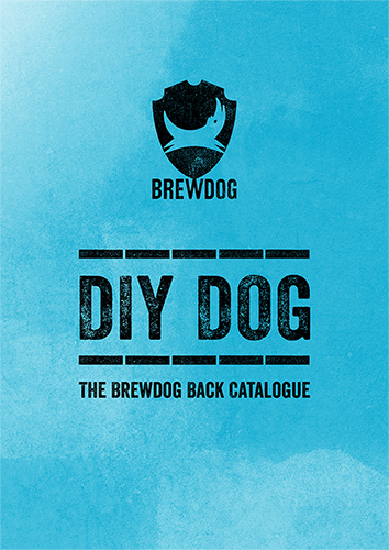 BE DIYBREWDOG