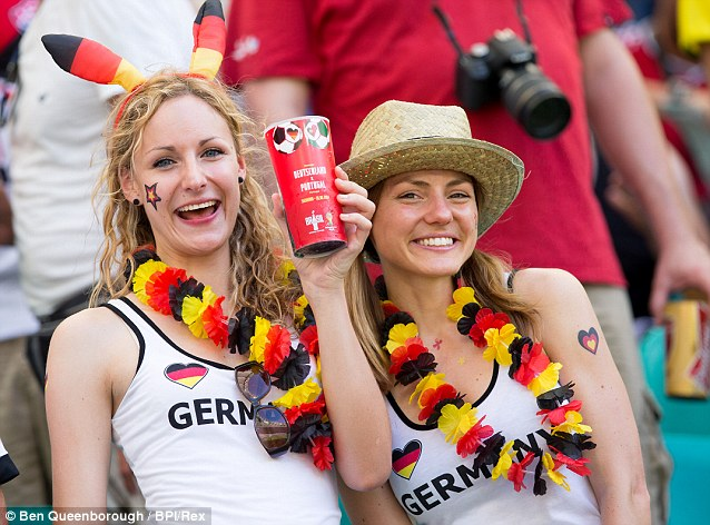 BE Germans and beer
