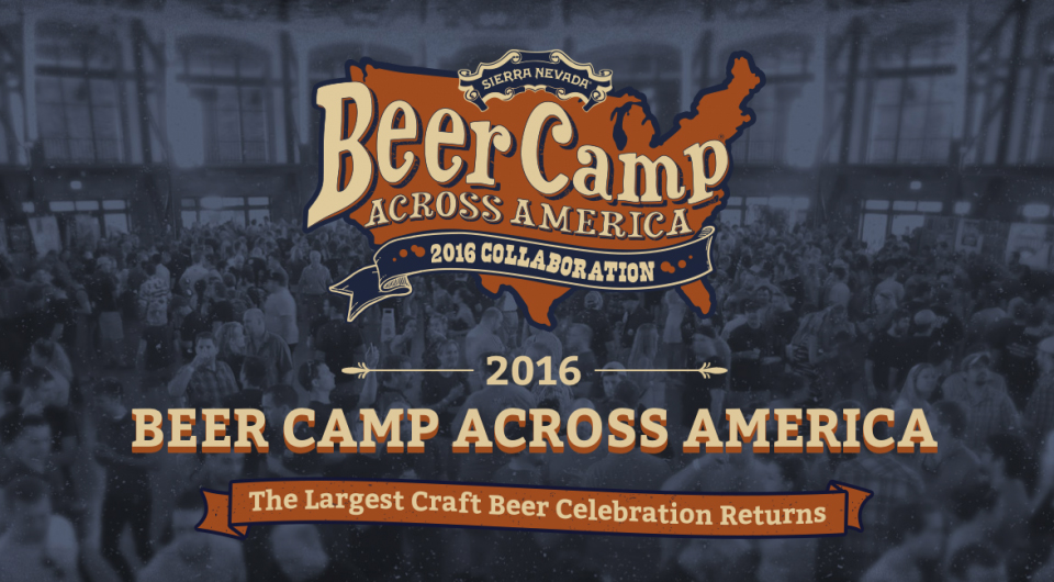 BE Sierra Nevada Beer Camp 2016