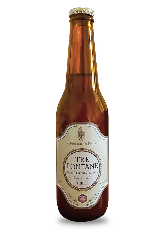 BE Tre Fontane trappist beer
