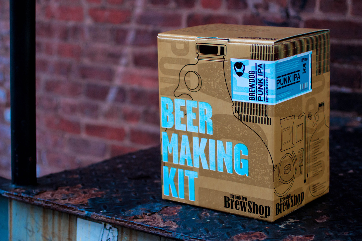Brewdog Kit Beer Making