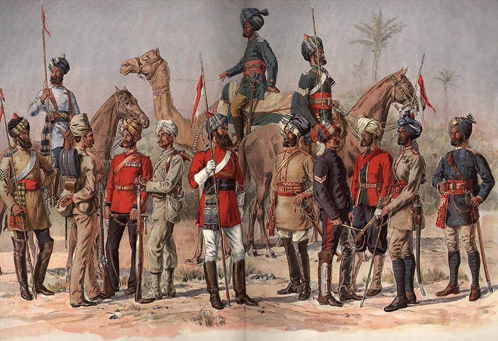 Britsh Forces in India