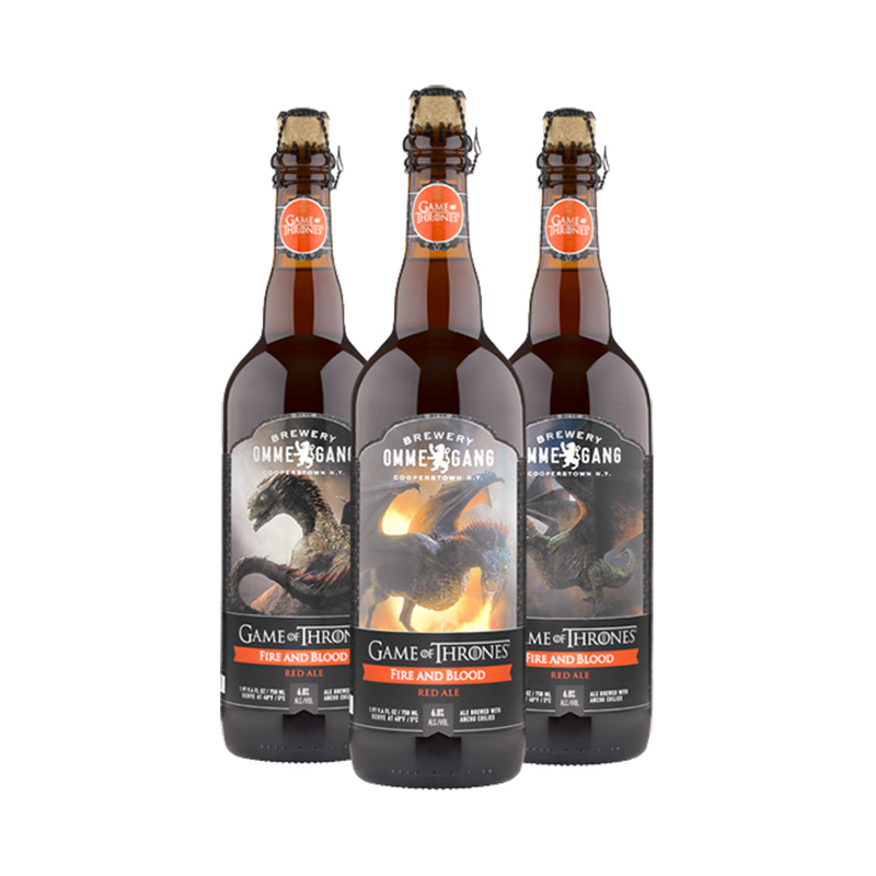 Fire and blood beer