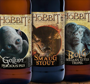 The Hobbit Beers